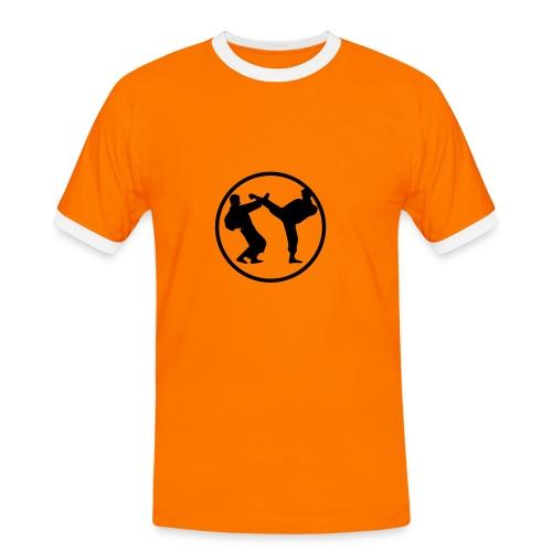 Karaté - T-shirt contrasté Homme