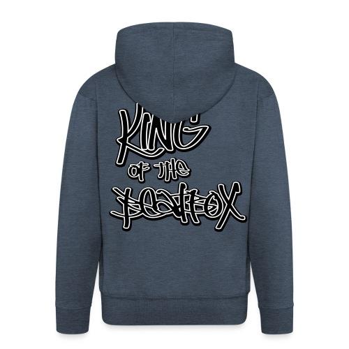 Granite King of the Beatbox Men's Longsleeves - Men's Premium Hooded Jacket