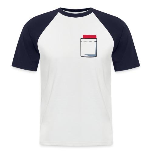 Maillot d'arbitre - T-shirt baseball manches courtes Homme
