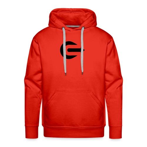 IOU Black on Red - Hoodie - Men's Premium Hoodie