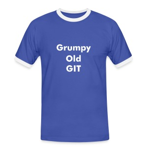 Grumpy Old GIT - Men's Ringer Shirt