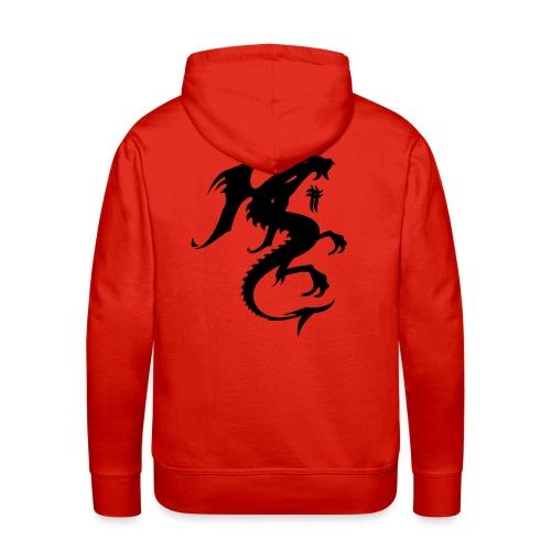Sweat Dragon - Sweat-shirt à capuche Premium pour hommes
