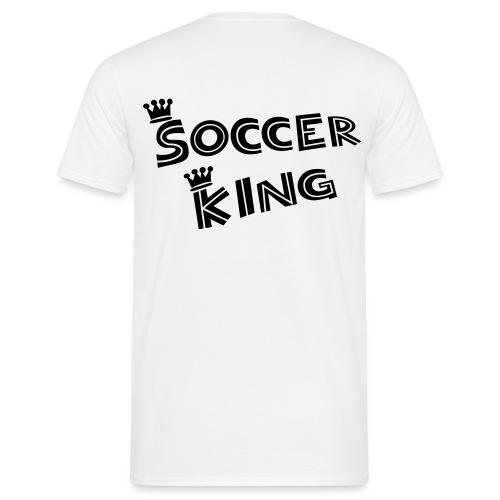 Soccer King - Kickershirt - Männer T-Shirt