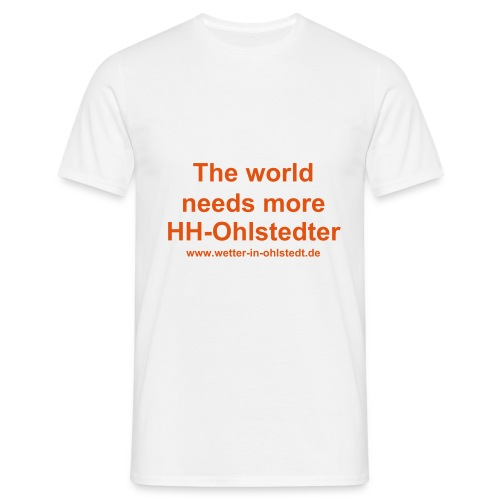 The world needs more HH-Ohlstedter - Männer T-Shirt