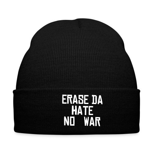 NO WAR GREEN HAT - Winter Hat