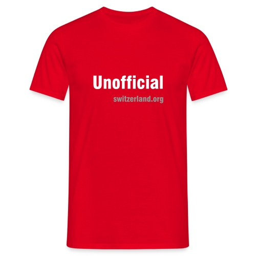 switzerland.org - Unofficial - T-Shirt - Männer T-Shirt