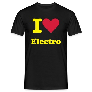 Tee-Shirt 1 - I love Electro - T-shirt Homme