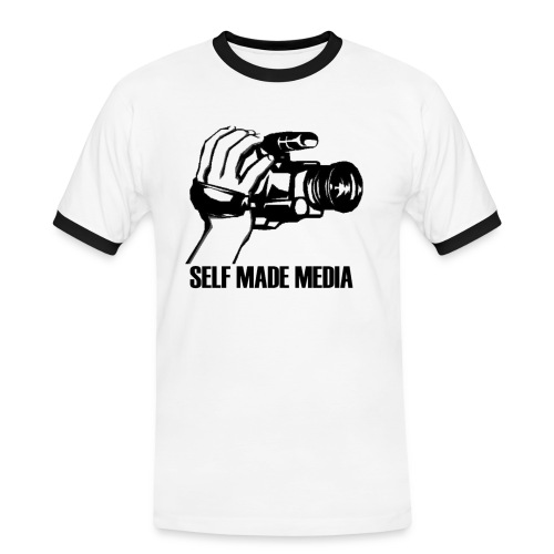 Self Made Media Tee - Men's Ringer Shirt
