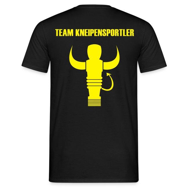 Shirt Team Logo Gelb + DEIN NAME