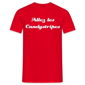 Allez les Candystripes - Men's T-Shirt
