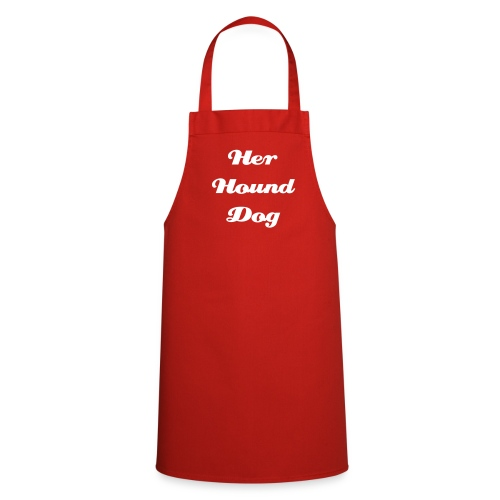 'Her Hound Dog' Apron - Cooking Apron