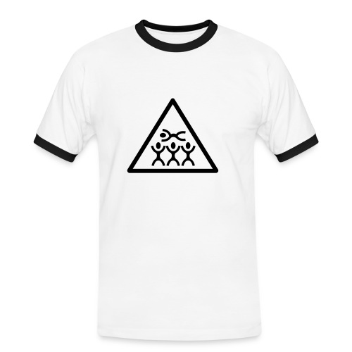 Klopfsensor unkaputtbar - Männer Kontrast-T-Shirt