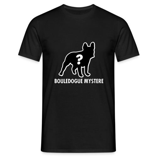 Bouledogue Mystère - T-shirt Homme