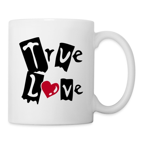 Tasse true love - Mug blanc