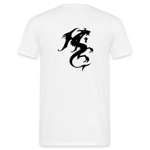 T-Shirt Dragon - T-shirt herr