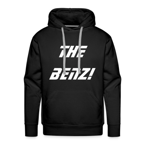 hooded top benz logo - Men's Premium Hoodie