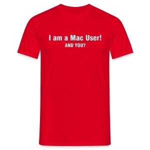 Mac User Shirt - Männer T-Shirt