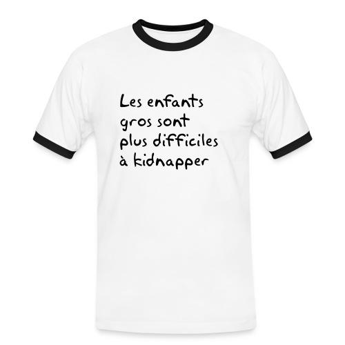 FT36-kid - T-shirt contrasté Homme
