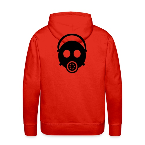 gas mask - Men's Premium Hoodie