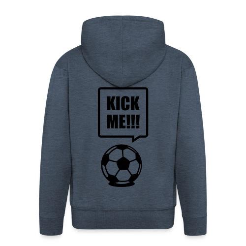 kick me - Mannenjack Premium met capuchon