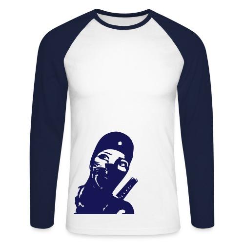 Ninjagirl - Männer Baseballshirt langarm