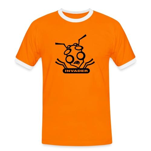 INVADER RETRO - Men's Ringer Shirt