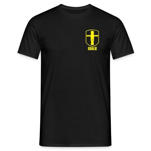 Shirt Goalie Brust - Männer T-Shirt