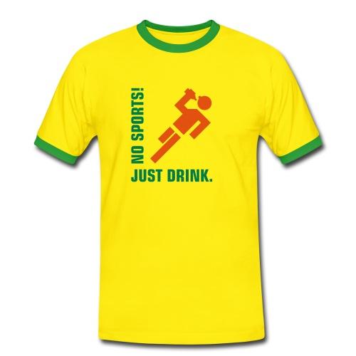 nosports - Mannen contrastshirt
