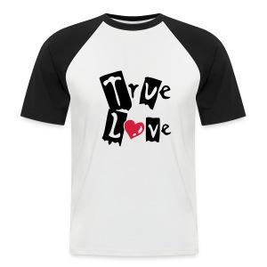 Trew Love - Aww! - Men's Baseball T-Shirt