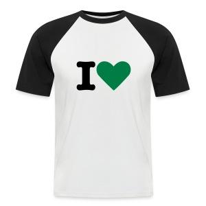 I love my realcool - Men's Baseball T-Shirt