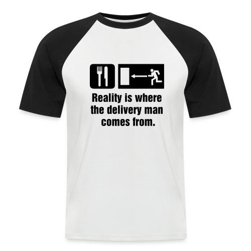 Realism - Men's Baseball T-Shirt