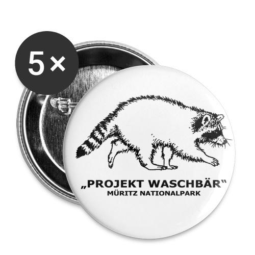 Sticker - Buttons mittel 32 mm (5er Pack)