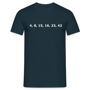 Lost Numbers - Men's T-Shirt