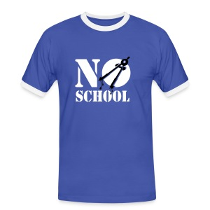 No School - Men's Ringer Shirt