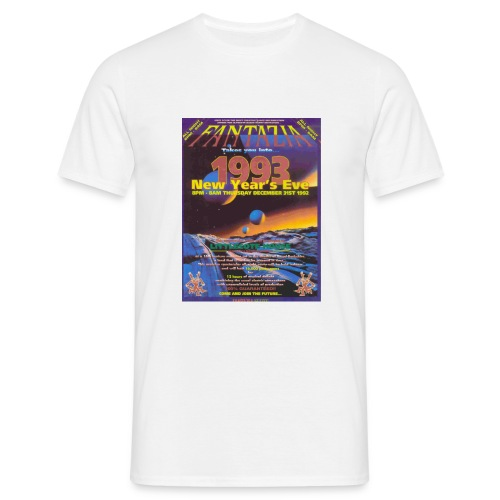 Fantazia New Year 92 - Men's T-Shirt