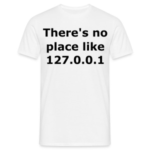 No place like home - Männer T-Shirt