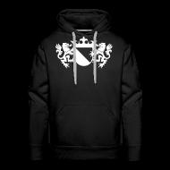 Hoodies & Sweatshirts ~ Men's Premium Hoodie ~ Utreg Massive Black Hoodie (LIMITED)