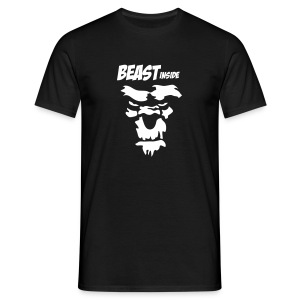 beast inside - Men's T-Shirt