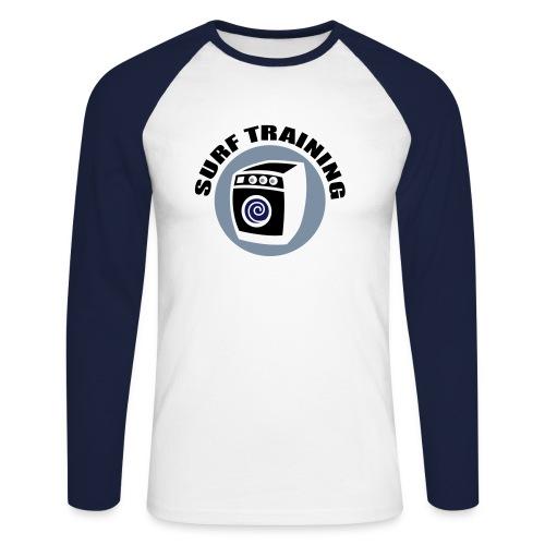 Surf Training - Männer Baseballshirt langarm