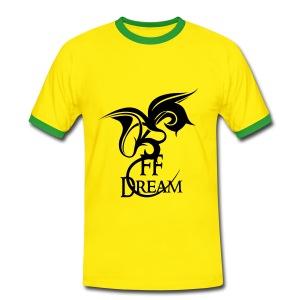 Rétro FFDream - logo noir - T-shirt contrasté Homme