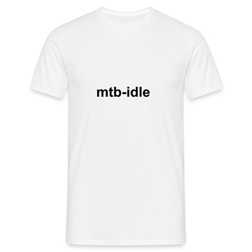 simply idle - Men's T-Shirt
