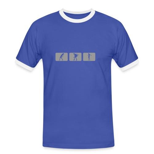 Single onTour - Männer Kontrast-T-Shirt