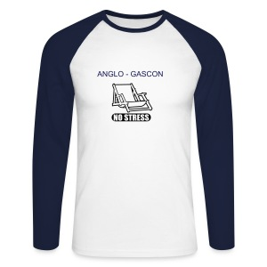 ANGLO GASCON - T-shirt baseball manches longues Homme