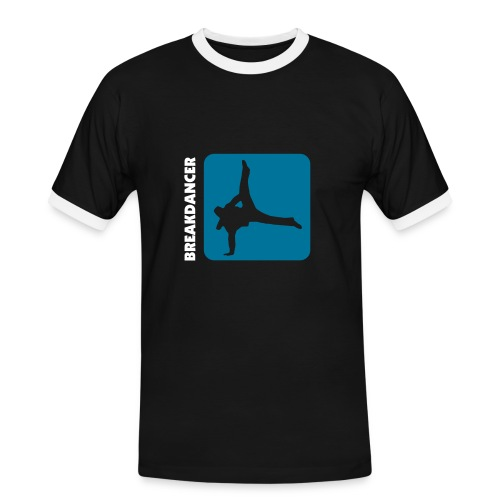 Breakdancer - Männer Kontrast-T-Shirt