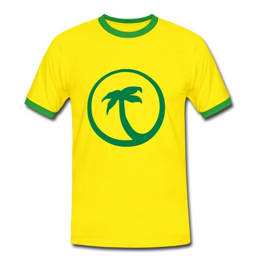 Playa - T-shirt contrasté Homme