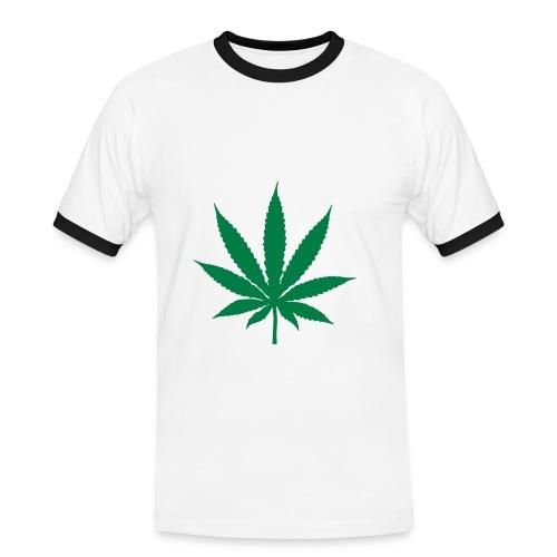 Cannabis - T-shirt contrasté Homme
