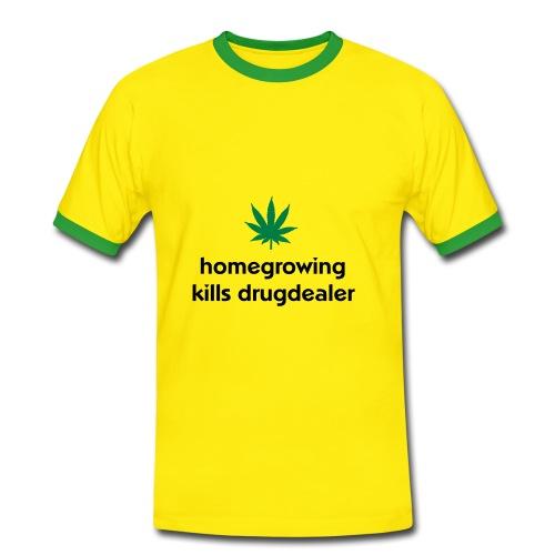 Homegrowing - T-shirt contrasté Homme