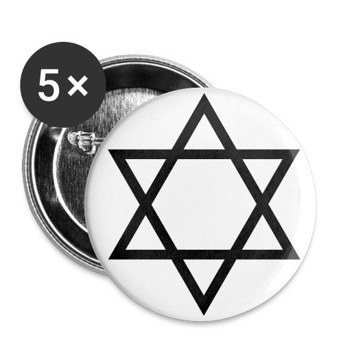 Weltherrschaftsbutton - Buttons groß 56 mm