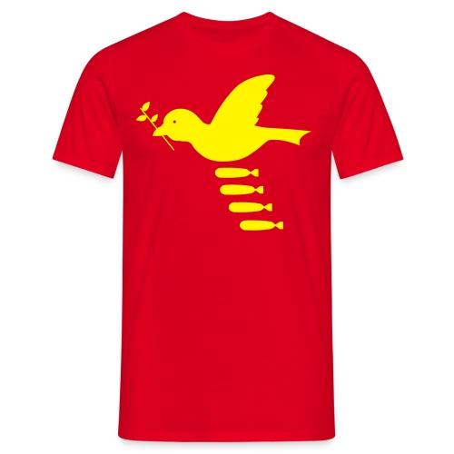 friedenstaube - comfort T - Männer T-Shirt