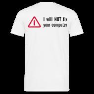 T-Shirts ~ Männer T-Shirt ~ No Fix!